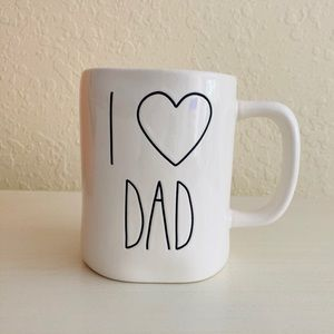 Other - Rae Dunn mugs I LOVE DAD